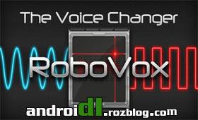 تغییر صدابا RoboVox – Voice Changer v1.6.0